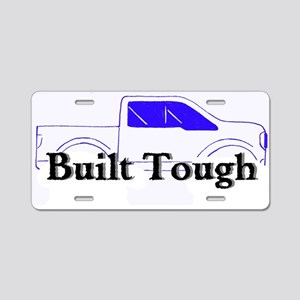 Built Tough Aluminum License Plate