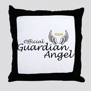 Official Guardian Angel Throw Pillow