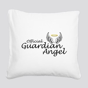 Official Guardian Angel Square Canvas Pillow