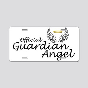 Official Guardian Angel Aluminum License Plate