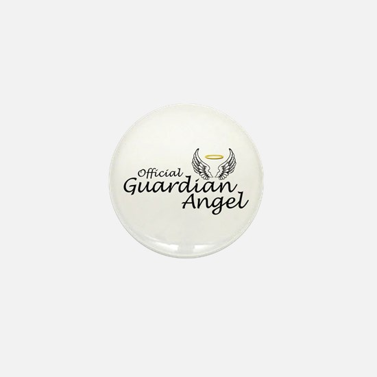 Official Guardian Angel Mini Button