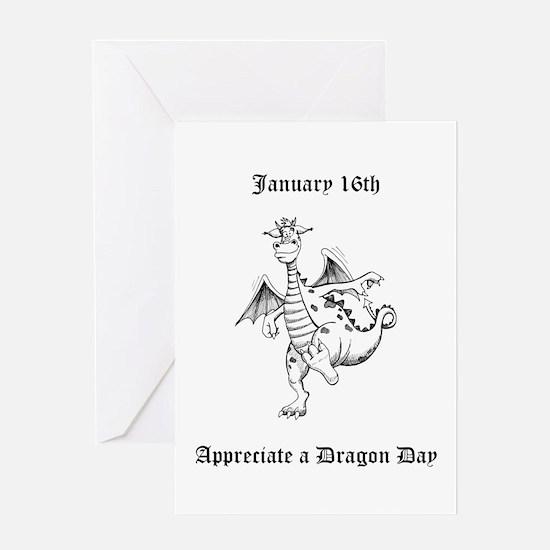 Appreciate a Dragon Day Greeting Cards