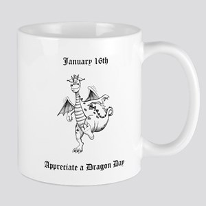 Appreciate a Dragon Day Mugs