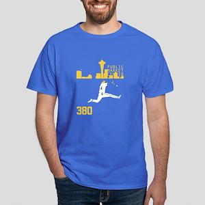 Seattle Baseball Catch Skyline T-Shirt