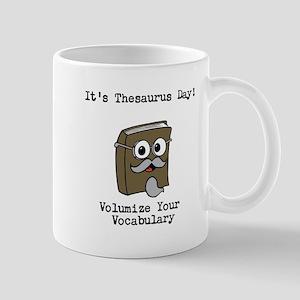 Its Thesaurus Day! Mugs
