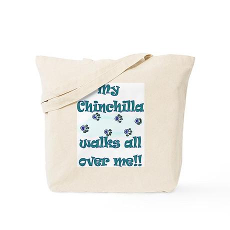 Chinchilla Walks Tote Bag