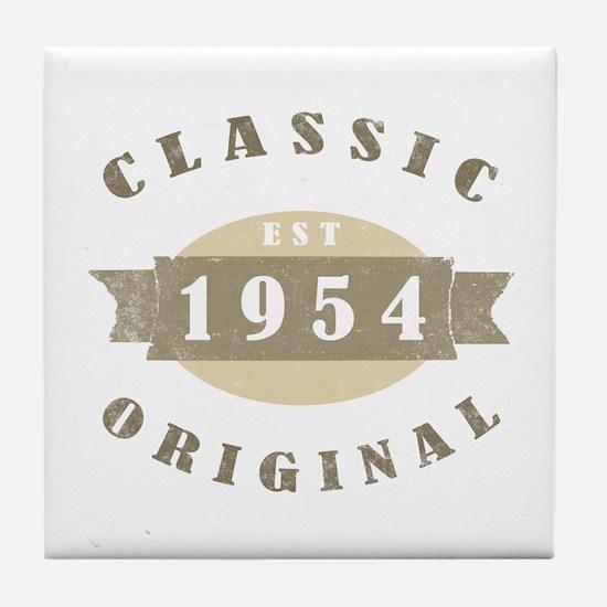 Est. 1954 Classic Tile Coaster