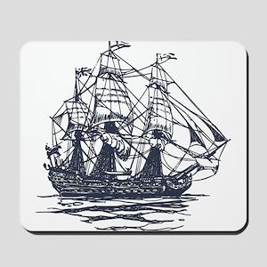 Nautical Ship Mousepad