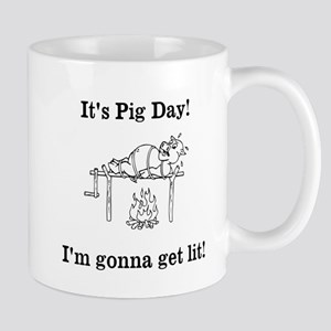 Its Pig Day! Mugs