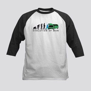evolution of man auto mechanic Baseball Jersey