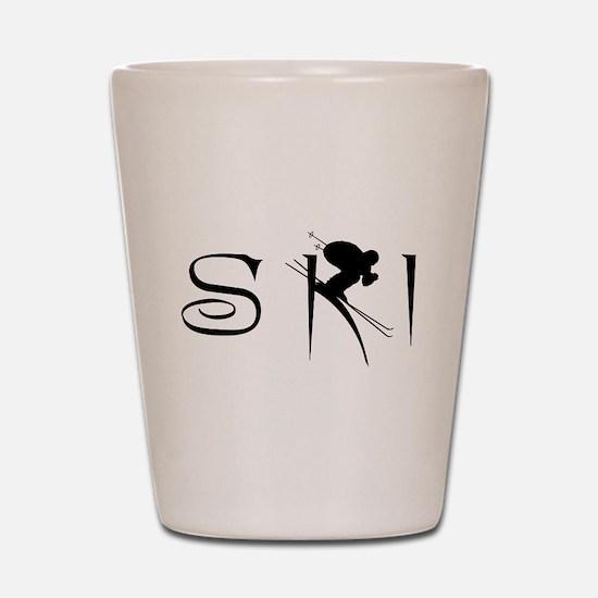 SKI Shot Glass