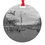Downtown Deerfield December 1953 Ornament