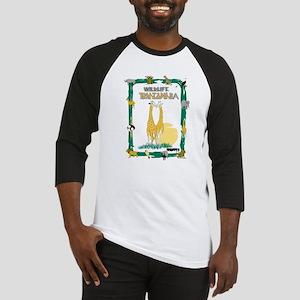 wildlife Tanzania Baseball Jersey