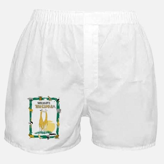 wildlife Tanzania Boxer Shorts