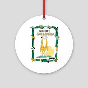 wildlife Tanzania Ornament (Round)