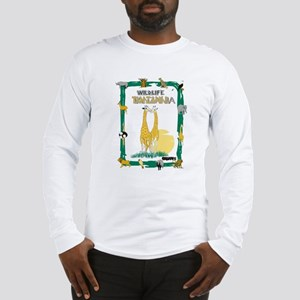 wildlife Tanzania Long Sleeve T-Shirt
