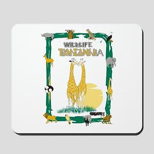wildlife Tanzania Mousepad