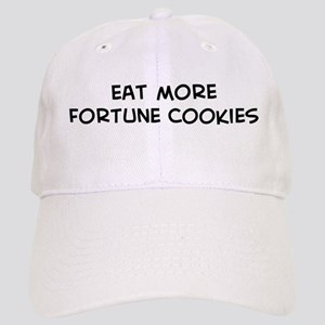 Eat more Fortune Cookies Cap