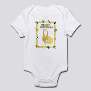 wildlife Tanzania 2 Infant Bodysuit