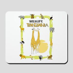 wildlife Tanzania 2 Mousepad