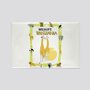 wildlife Tanzania 2 Rectangle Magnet