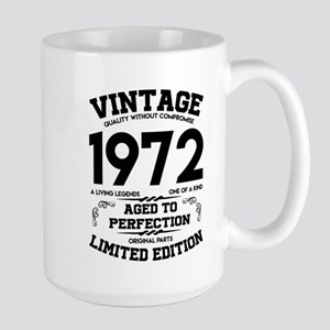 VINTAGE 1972 AGED TO PERFECTION Mugs