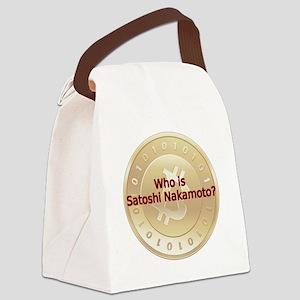 Bitcoin:  Who Is Satoshi Nakamoto Canvas Lunch Bag