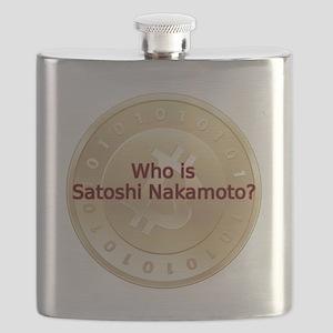 Bitcoin:  Who Is Satoshi Nakamoto? Flask