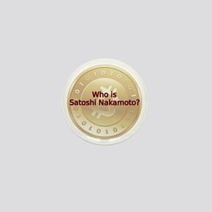Bitcoin:  Who Is Satoshi Nakamoto? Mini Button