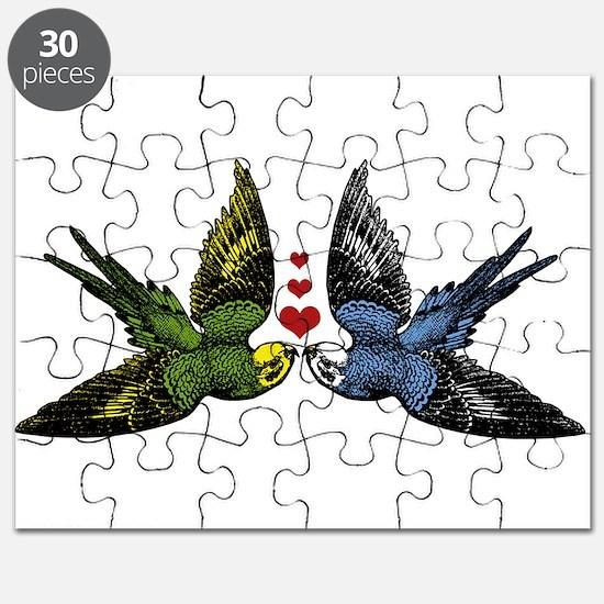 In Love Birds Puzzle