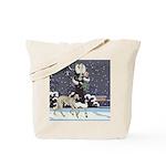 Borzoi Holiday Tote Bag