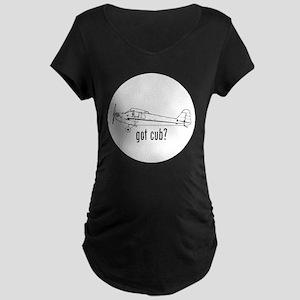 Got Cub? Maternity Dark T-Shirt
