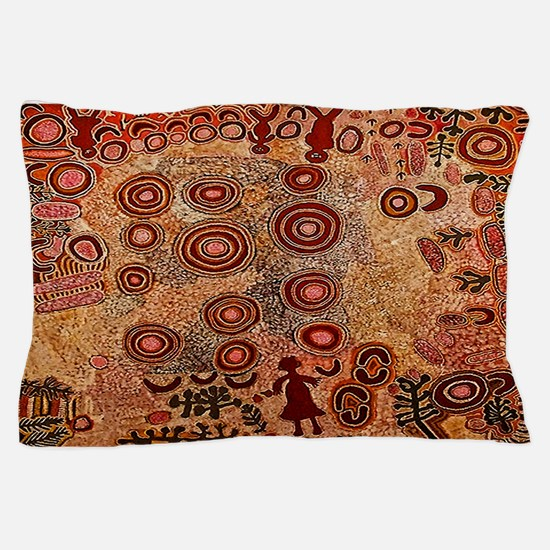 Aboriginal Petroglyph Pillow Case