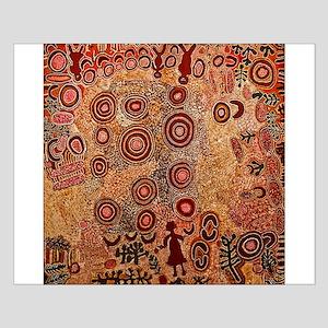 Aboriginal Petroglyph Small Poster