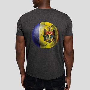 Moldova Football Dark T-Shirt