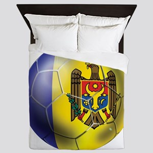 Moldova Football Queen Duvet