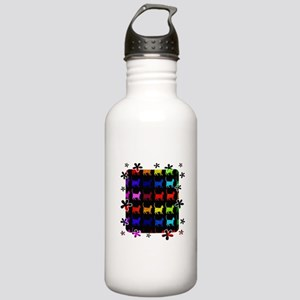 Rainbow Of Cats Stainless Water Bottle 1.0L