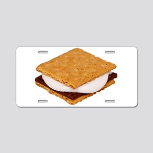 Smores Aluminum License Plate