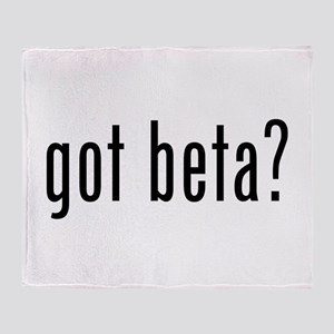 Got Beta? Throw Blanket