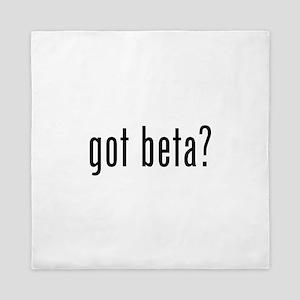 Got Beta? Queen Duvet