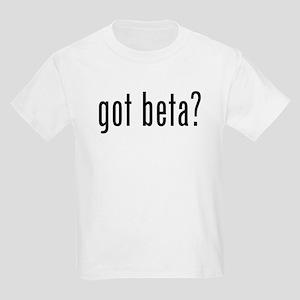Got Beta? Kids Light T-Shirt