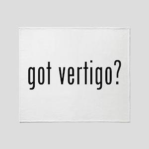 Got Vertigo? Throw Blanket