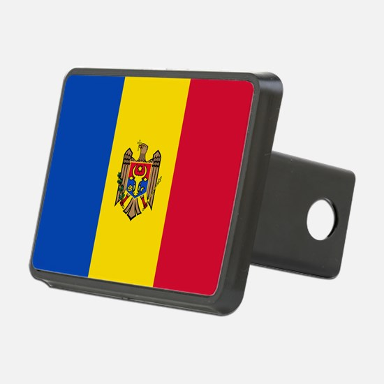 Flag of Moldova Hitch Cover