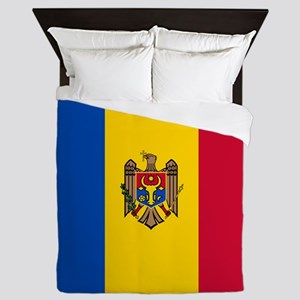 Flag of Moldova Queen Duvet