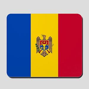 Flag of Moldova Mousepad