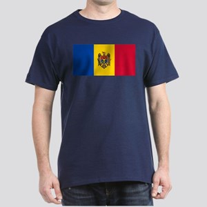 Flag of Moldova Dark T-Shirt