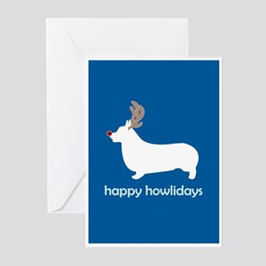 "Corgi ""Happy Howlidays"" Greeting Cards (Package of"