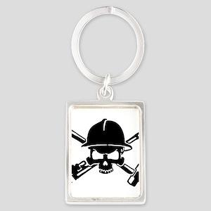 Oilfield Skull Keychains
