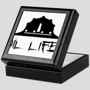 oillife2 Keepsake Box