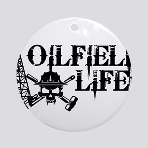 oilfieldlife2 Ornament (Round)